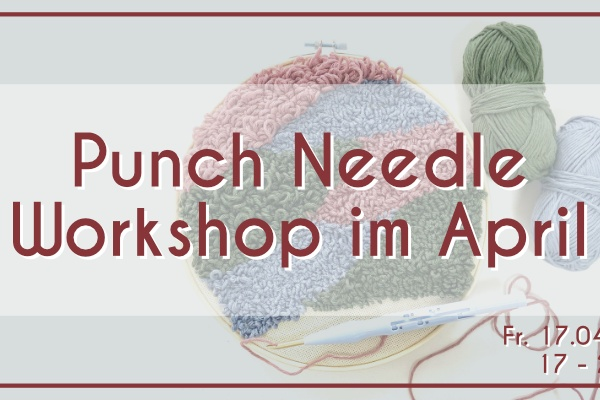 Punch Needle Workshop