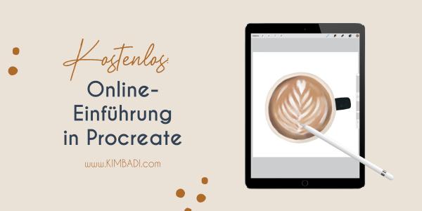 Kostenlose Online-Einführung in Procreate
